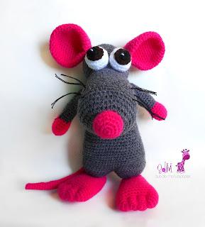raton amigurumi