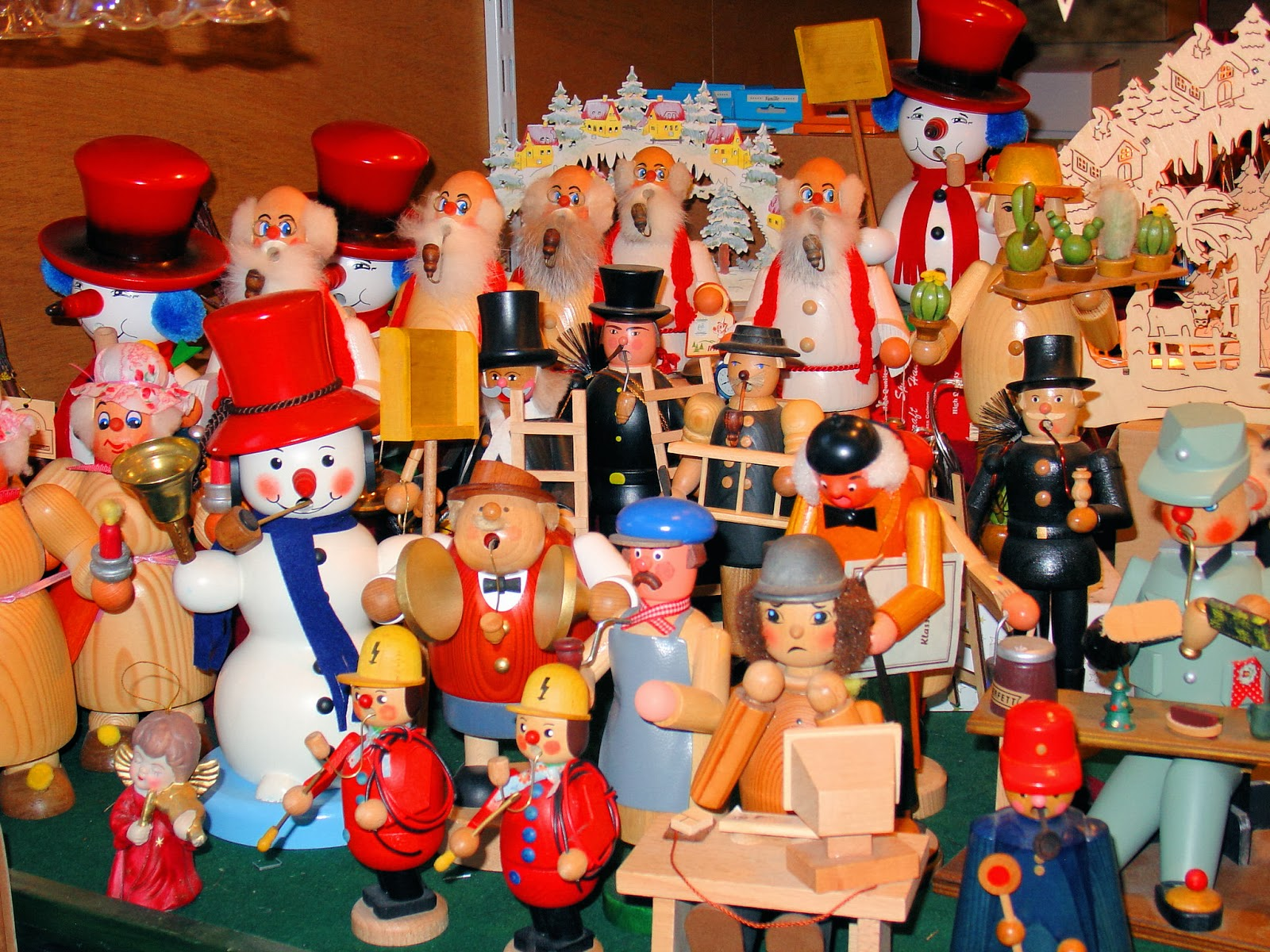 A Christmas trove of handcrafted gifts at the Salzburg Christmas Market.