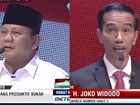 Speech Composing Jokowi-JK dan Prabowo-Hatta Di Debat Capres Cawapres