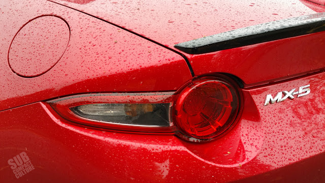 2016 Mazda MX-5 Miata taillight