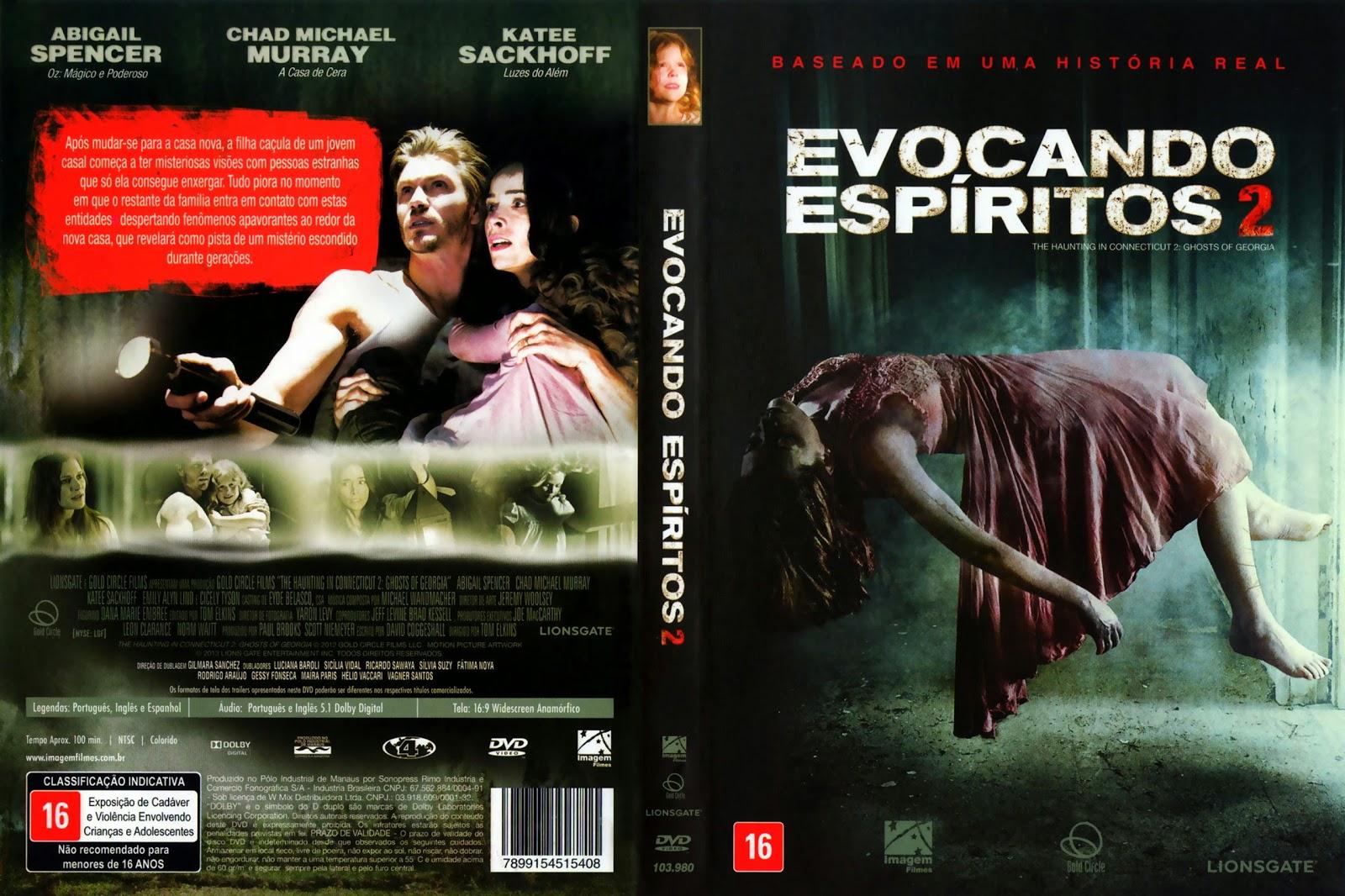 Filme Evocando Espíritos 2 DVD Capa