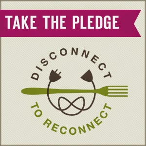 take the pledge badge