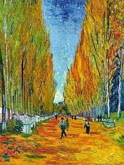 L'Allée des Alyscamps - Vincent Van Gogh -