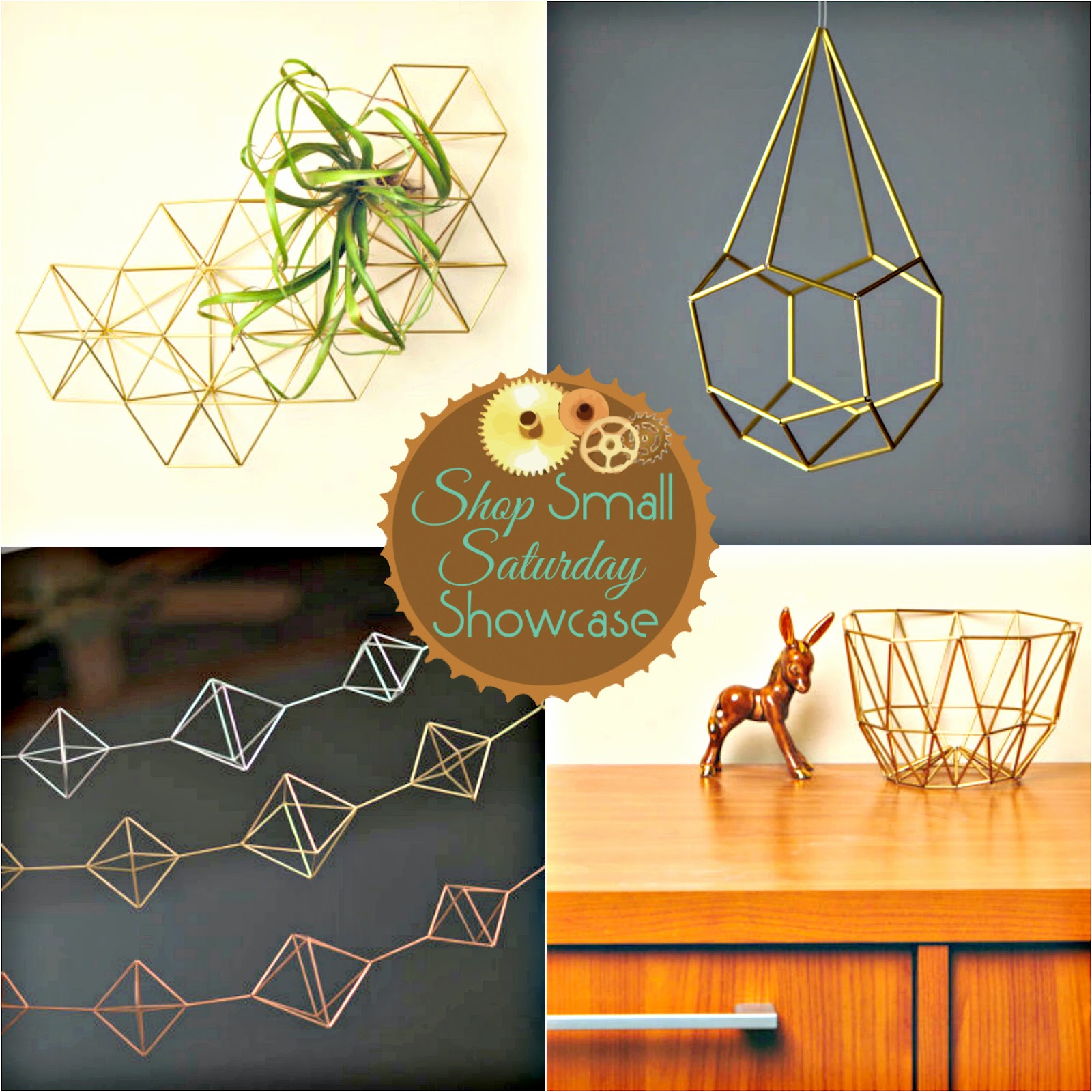 Spazz Happy Line Design feature & GIVEAWAY! on Shop Small Saturday Showcase at Diane's Vintage Zest! #unique #home #decor