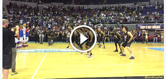 New Zealand Wellington Saints' performs Haka dance before playing Gilas Pilipinas (VIDEO)