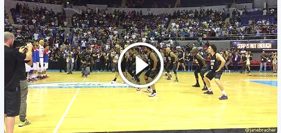New Zealand Wellington Saints' performs Haka dance before playing Gilas Pilipinas (VIDEO)