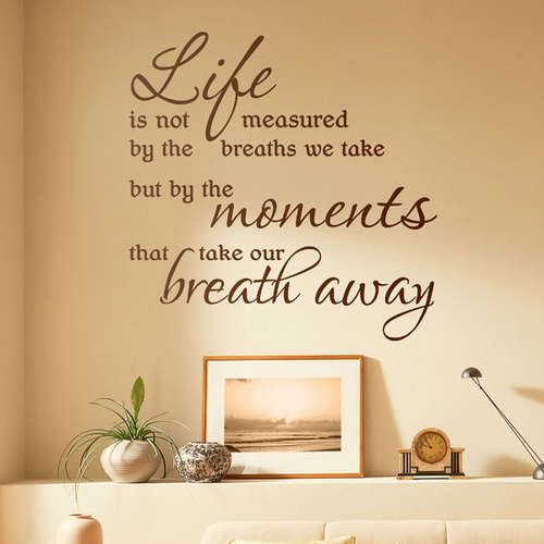 Perfect life quote for your facebook interior design for Decoration quotes sayings