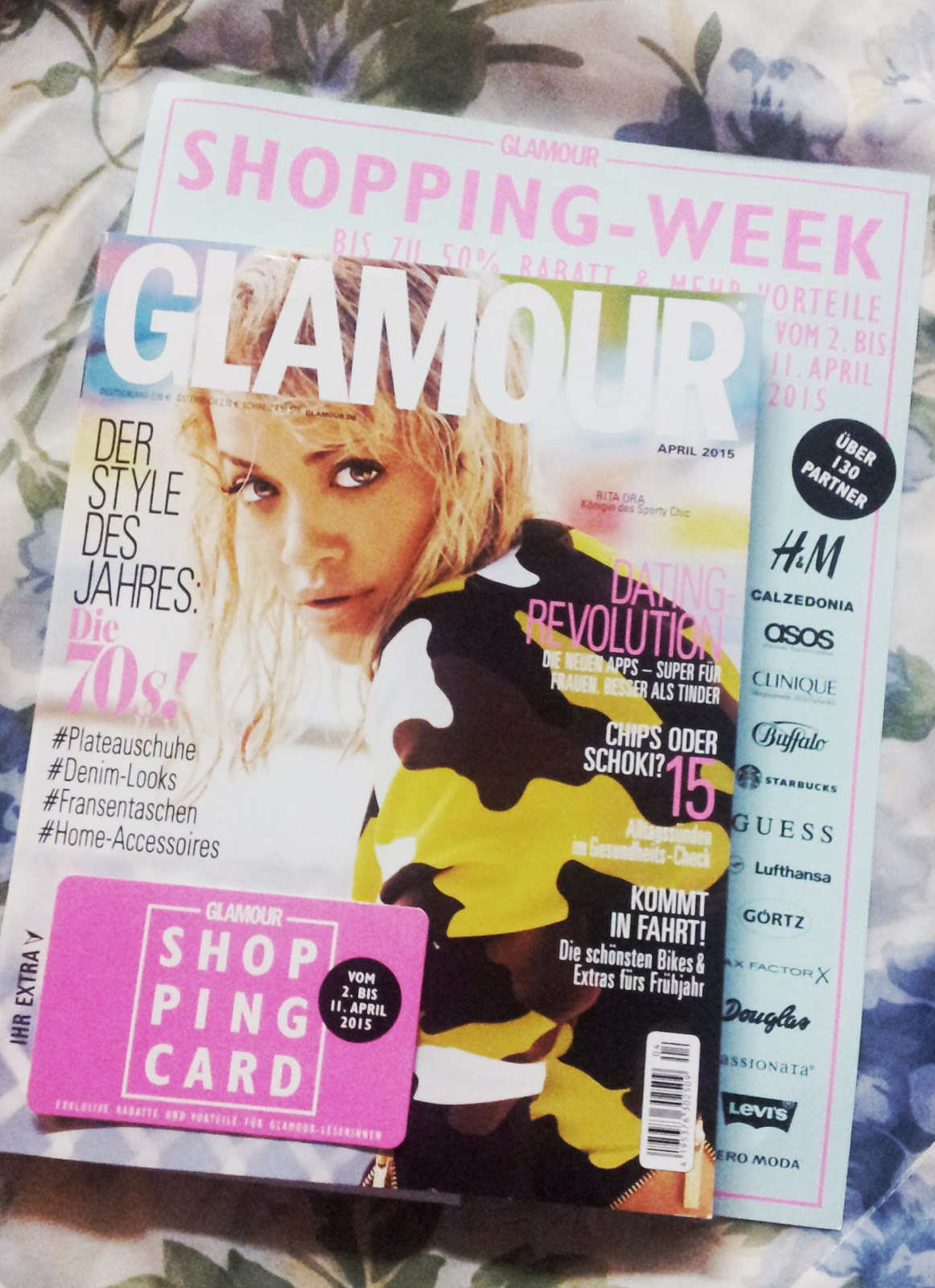 Beauty, Fashion and Whatever: Glamour Shopping-Week April ...