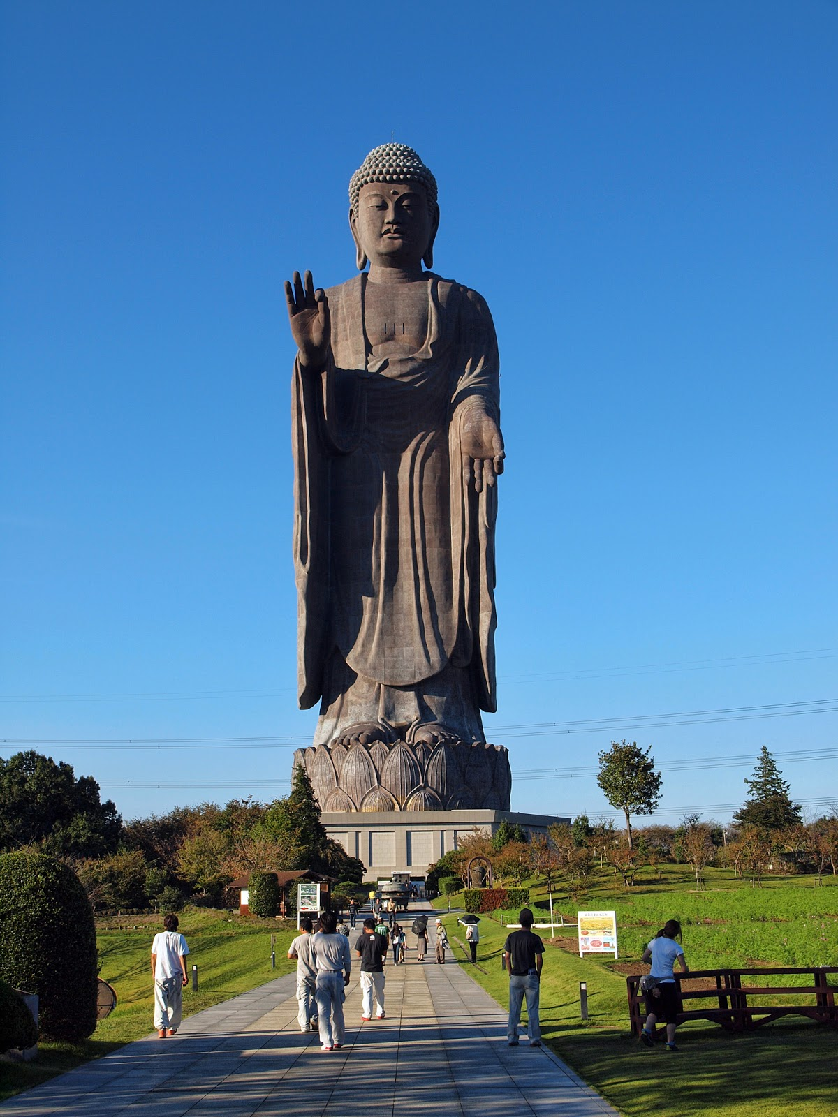 Image result for Ushiku Daibutsu in Ushiku, Japan