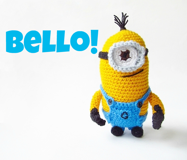 Amigurumi Despicable Me Minion | Little Things Blogged