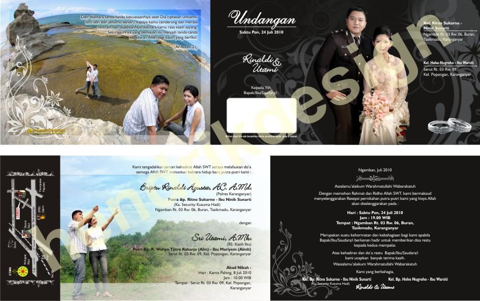 Undangan Pernikahan Sparasi 01
