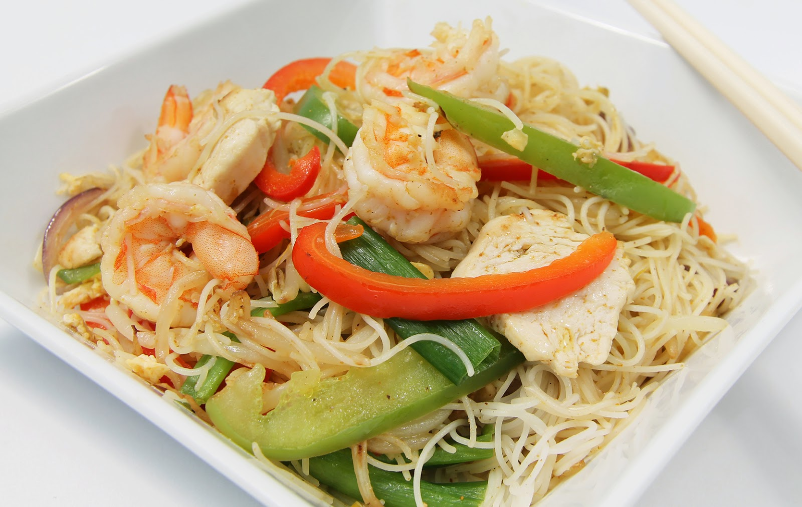 Singapore Noodles | Pop and Wok