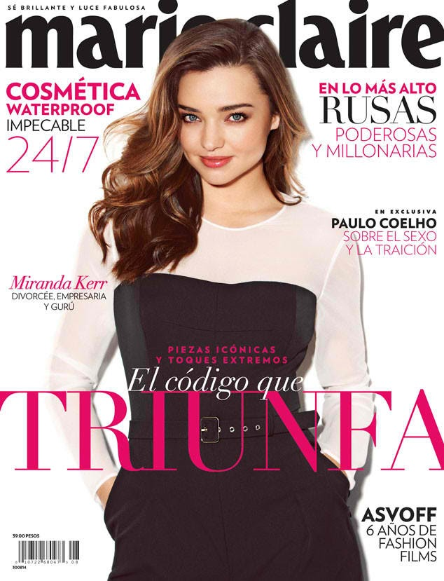 Miranda Kerr - Marie Claire Magazine, Mexico, August 2014