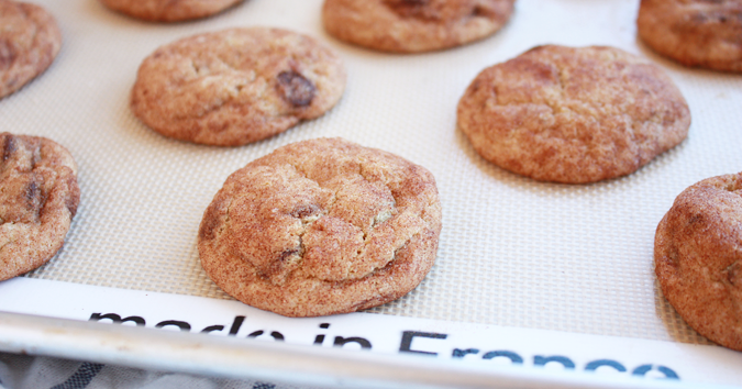 Sweet Lavender Bake Shoppe: chocolate chip snickerdoodles...