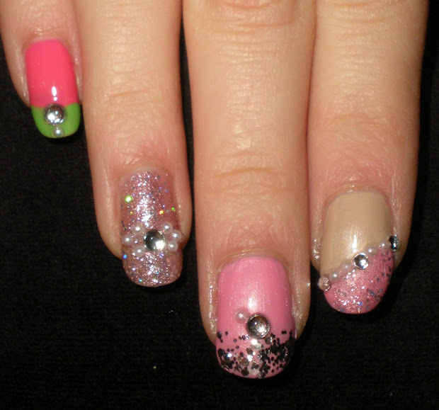 castinails nicki minaj nail art