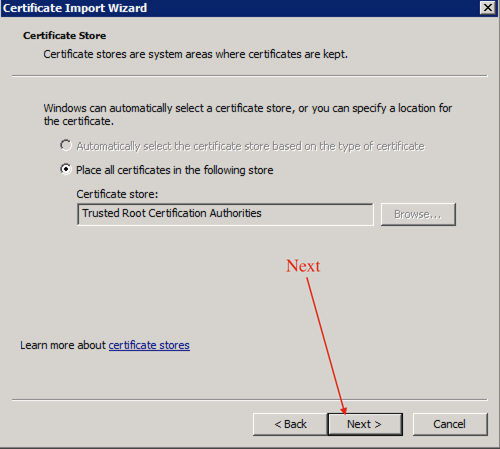 Ruwans Techno Blog How To Add A Certificate To Trusted Root