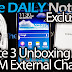 Galaxy Note 3 Unboxing (With Official OEM External Charging Kit)