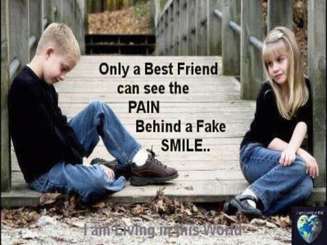Only a best friend can.........