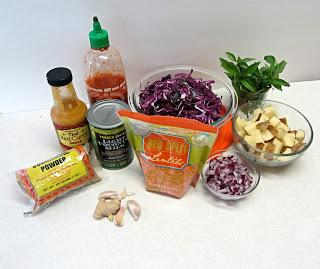 Thai Lentils and Cabbage   Bobbins of Basil