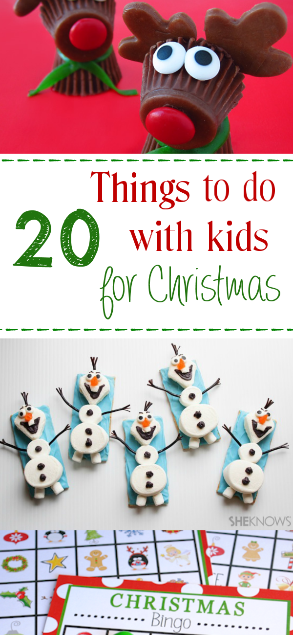 20 Fun Things to do with Kids for Christmas