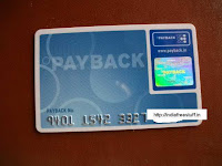 Get your free payback card earn points