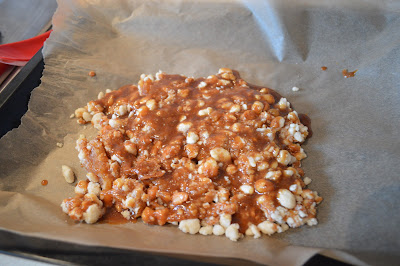 Home made praline