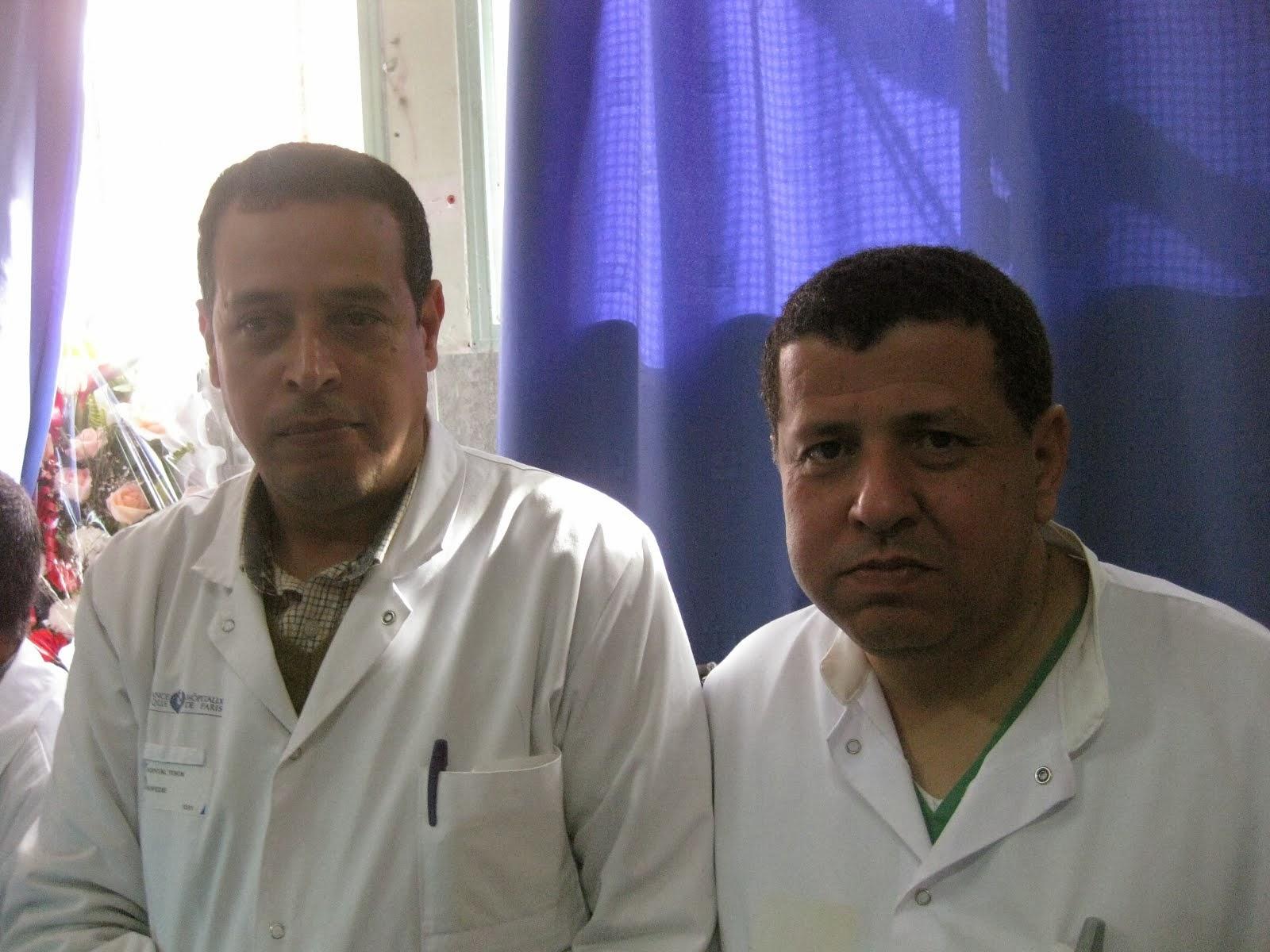 TAKRIME LES INFIRMIERS DU BLOC OPERATOIRE HOPITAL IBNO SINA RABAT