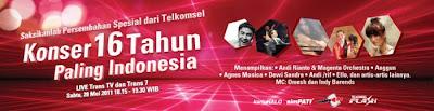 Ultah 16 Tahun Telkomsel