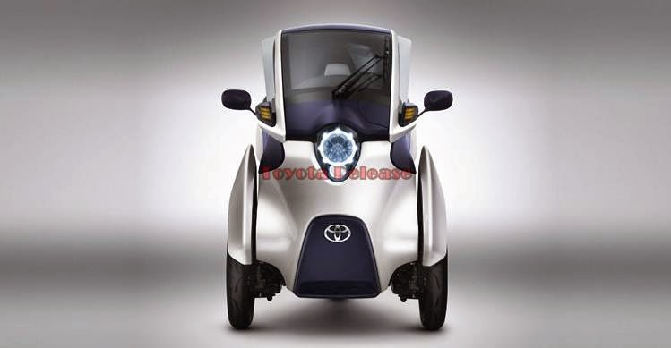 Toyota I-ROAD Electric Personal Mobility Vehicle