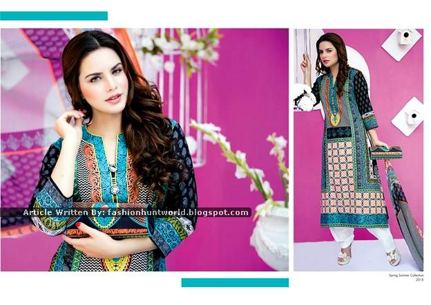 Falak Fabrics Lawn 2015-2016 Look Book