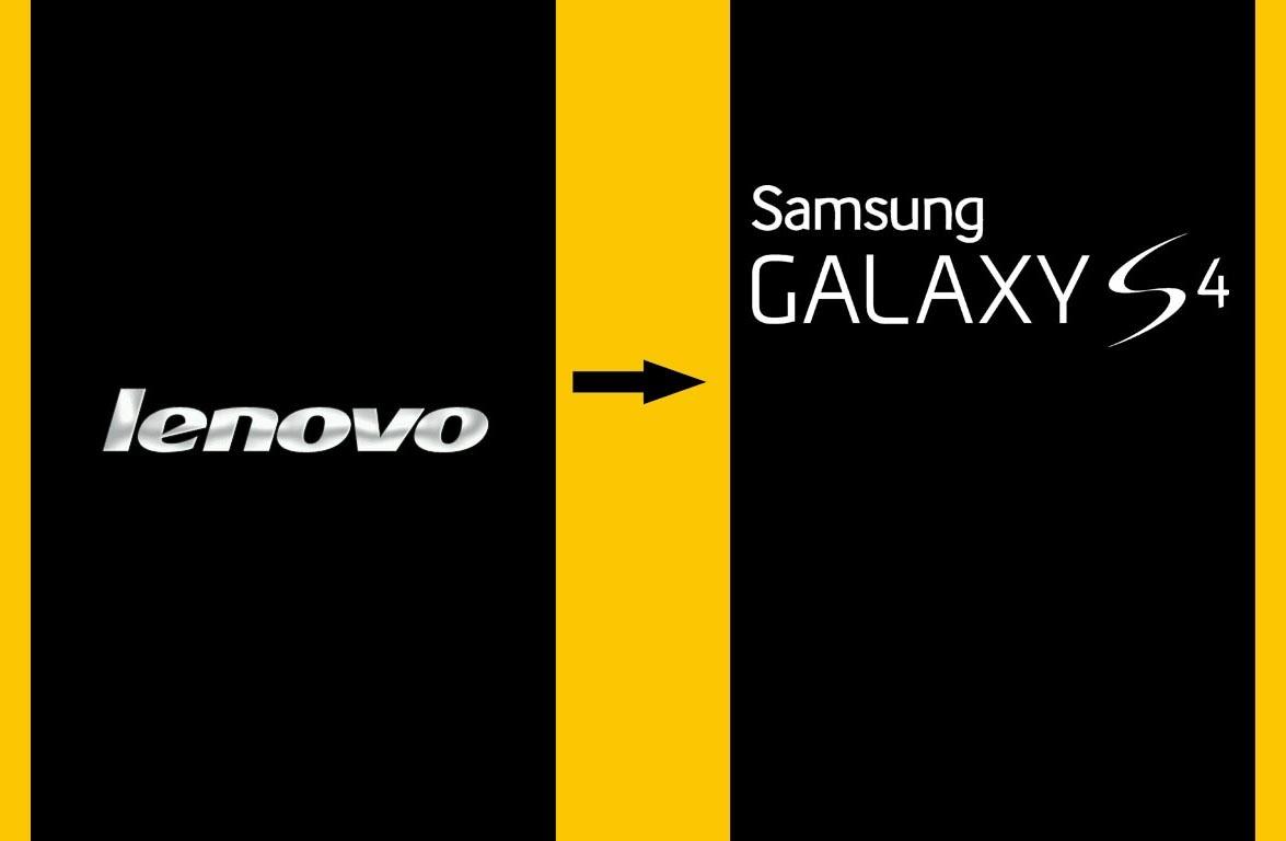 ... Boot Logo AndroidBoot Logo Lenovo A390 Menjadi Galaxy S4 GT-I9500