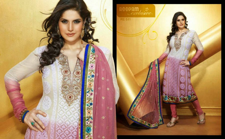 http://www.funmag.org/fashion-mag/fashion-apparel/zarine-khan-roopam-exclusive-churidar-suits/
