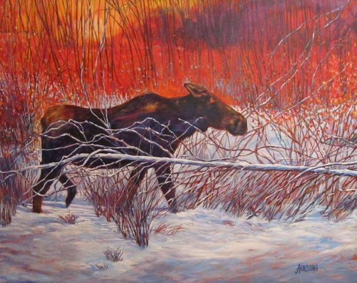 Страсть к живописи. Janet Armstrong