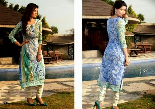 Digital Printed Dresses by Rashid Textiles