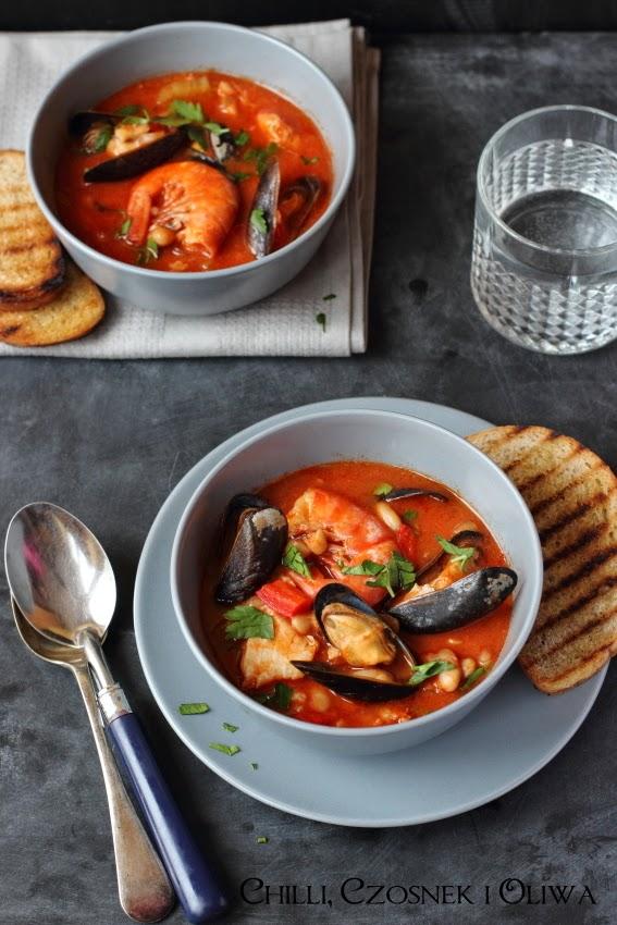 wloska zupa rybna na swieta