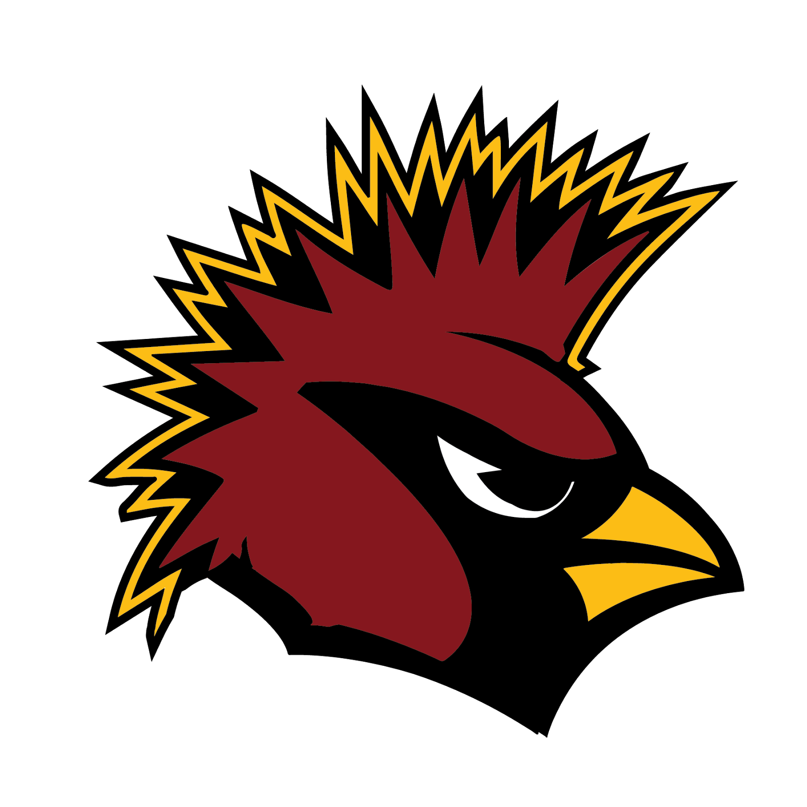 Arizona Cardinals, metal, logo, re-imagined