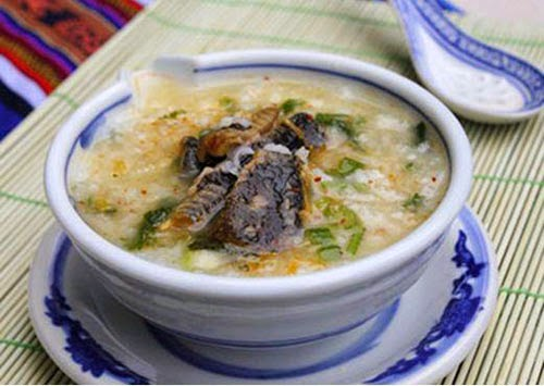 Vietnamese Taro Eel Porridge (Chao Luon Khoai Mon)1