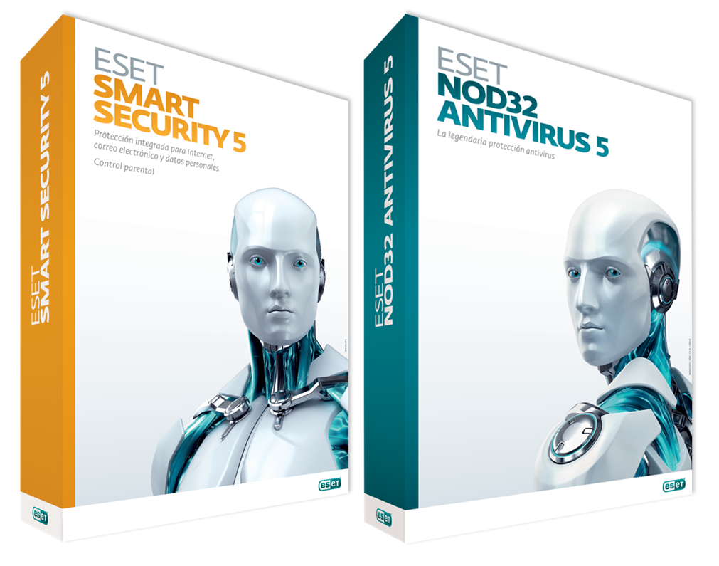 ESET NOD32 Antivirus 5 y ESET Smart Security 5 32Bits/64Bits