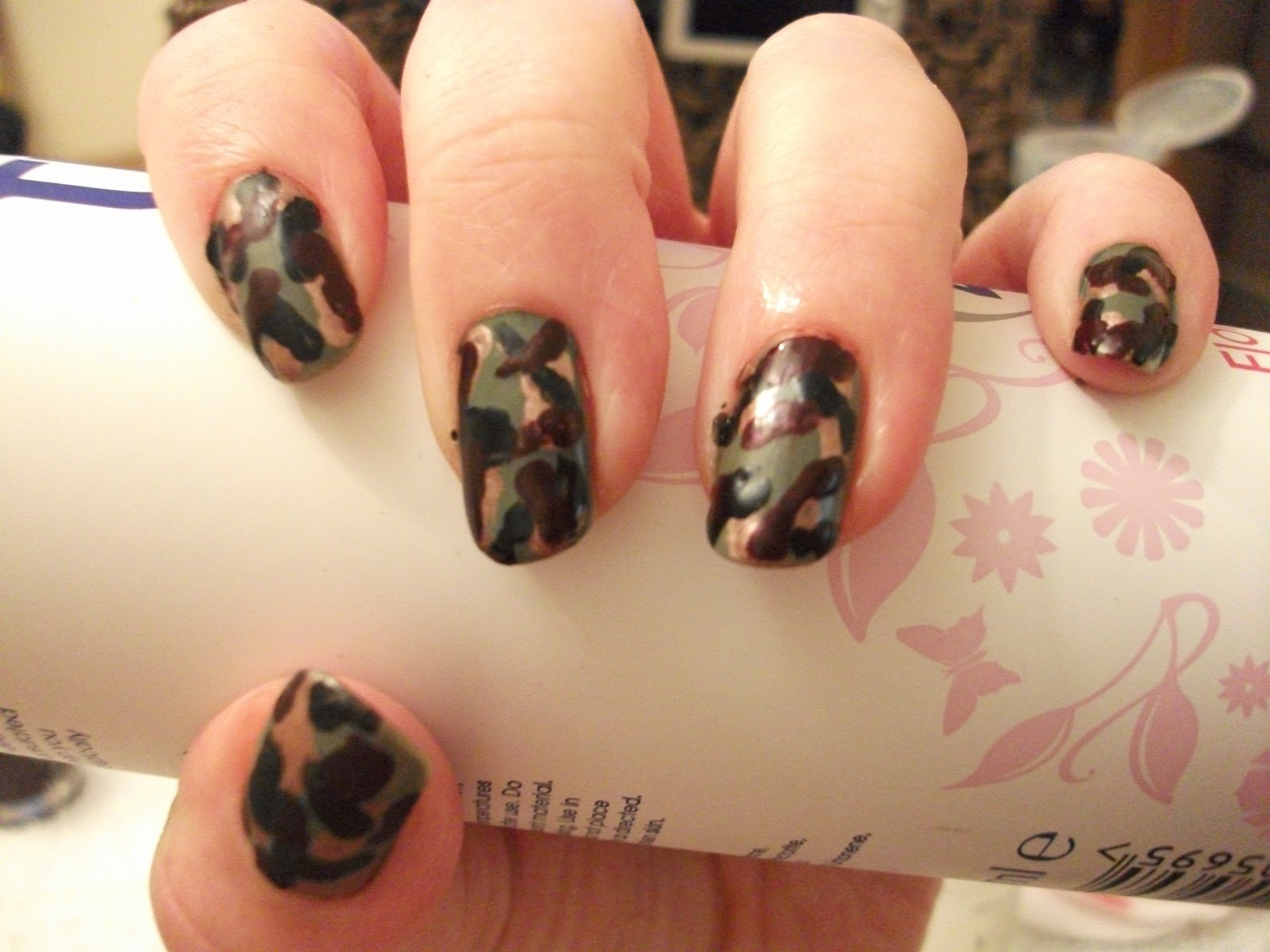 Armed Forces Day Nails Nail Art Designs
