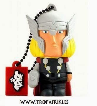 USB Thor Los Vengadores. Marvel. 8GB por 17,90€