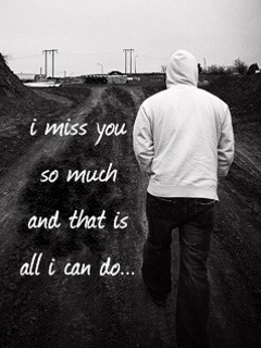 I Miss You Boy 240x320 Wallpaper | Mobile Wallpapers ...