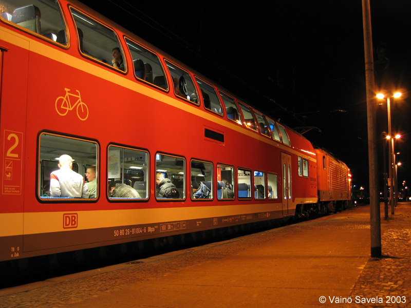 All Around Europe Trains In Germany