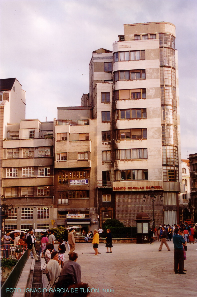 Edificio el termometro oviedo arquitectura de oviedo 1850 2000 - Arquitectos en oviedo ...