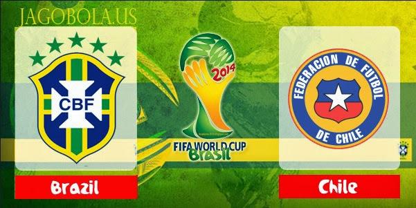Prediksi Skor Brasil vs Chile 28 Juni 2014 World Cup