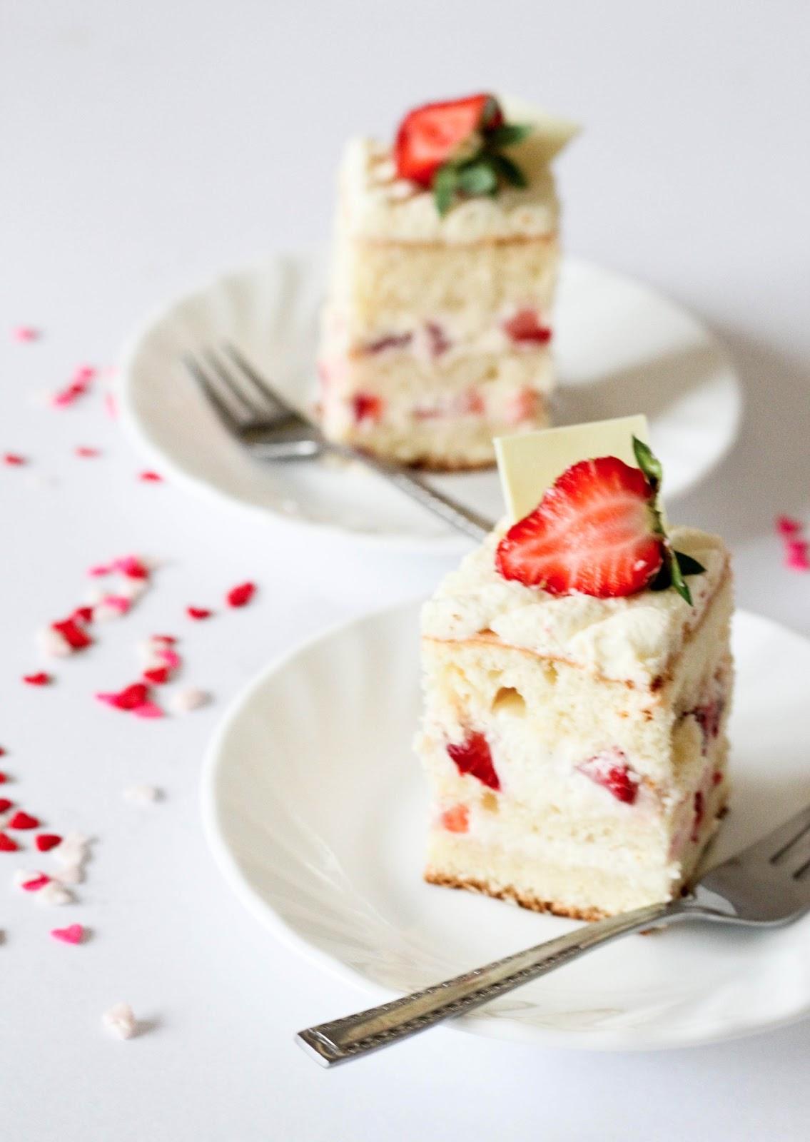 Japanese Strawberry Cake Japanese strawberry shortcake