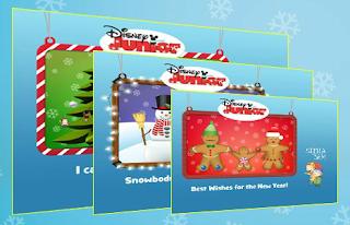 Free Disney Junior Holiday eCard