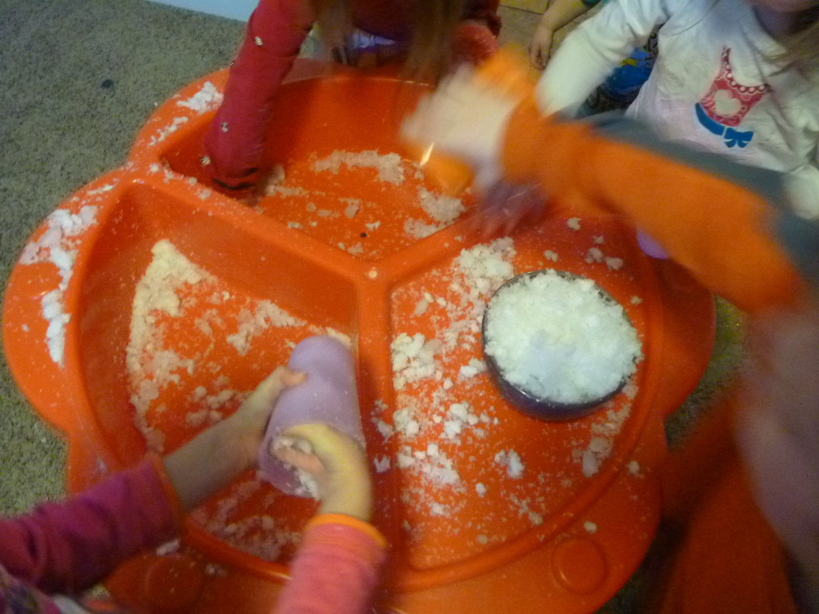 how to make instant snow without diapers