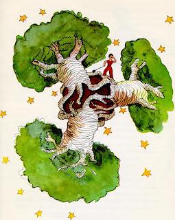 Enfants! Faites attention aux baobabs!