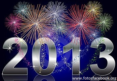 Imagens de Feliz 2013 Ano Novo no Facebook