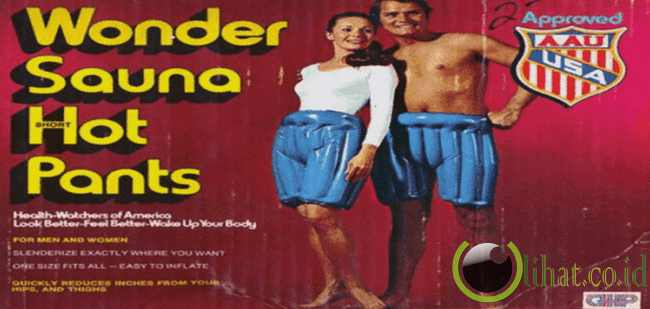 Wonder Sauna Inflatable Pants (Celana Mandi Sauna)